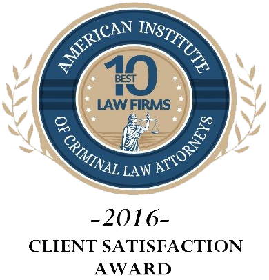 2016 Client Satisfaction Award - McCollum and Wilson